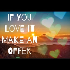 If you love it make an offer